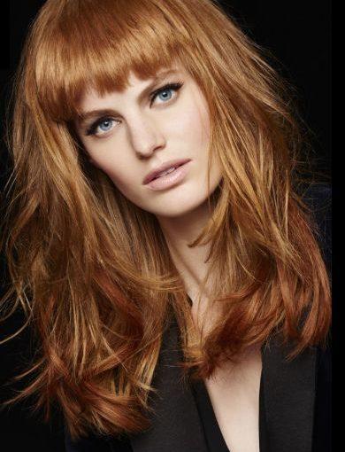Coupe de cheveux femme avec frange
