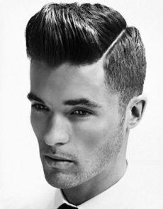 Coupe de cheveux homme dégradée courte