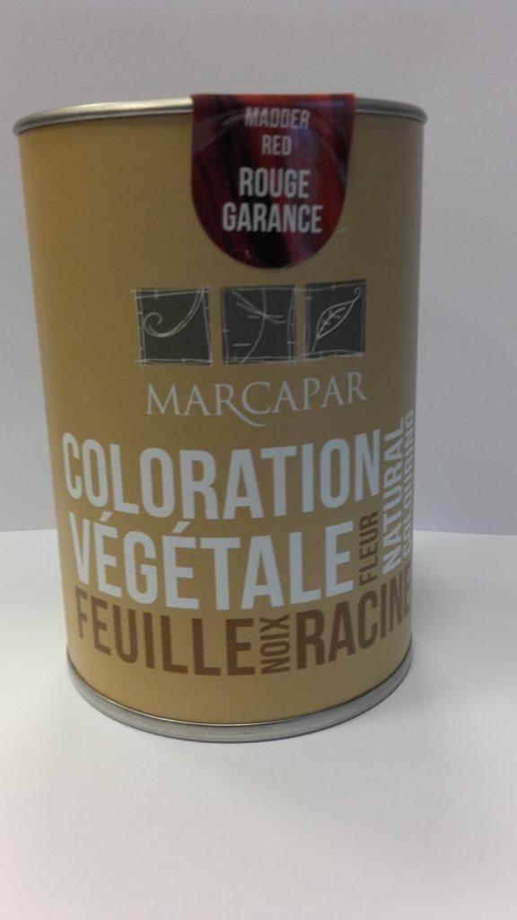 foto de Couleur Vegetale Rouge Garance Marcapar coiffeur code