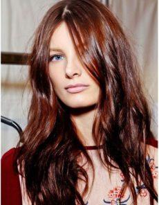Couleur de cheveux châtain brun